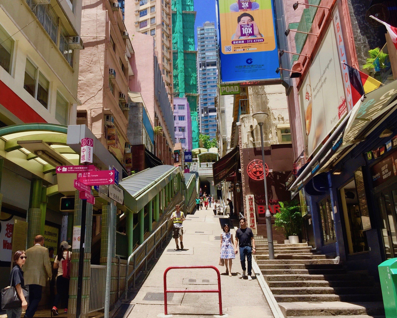 FB Shop for rent on Shelley Street Central HK