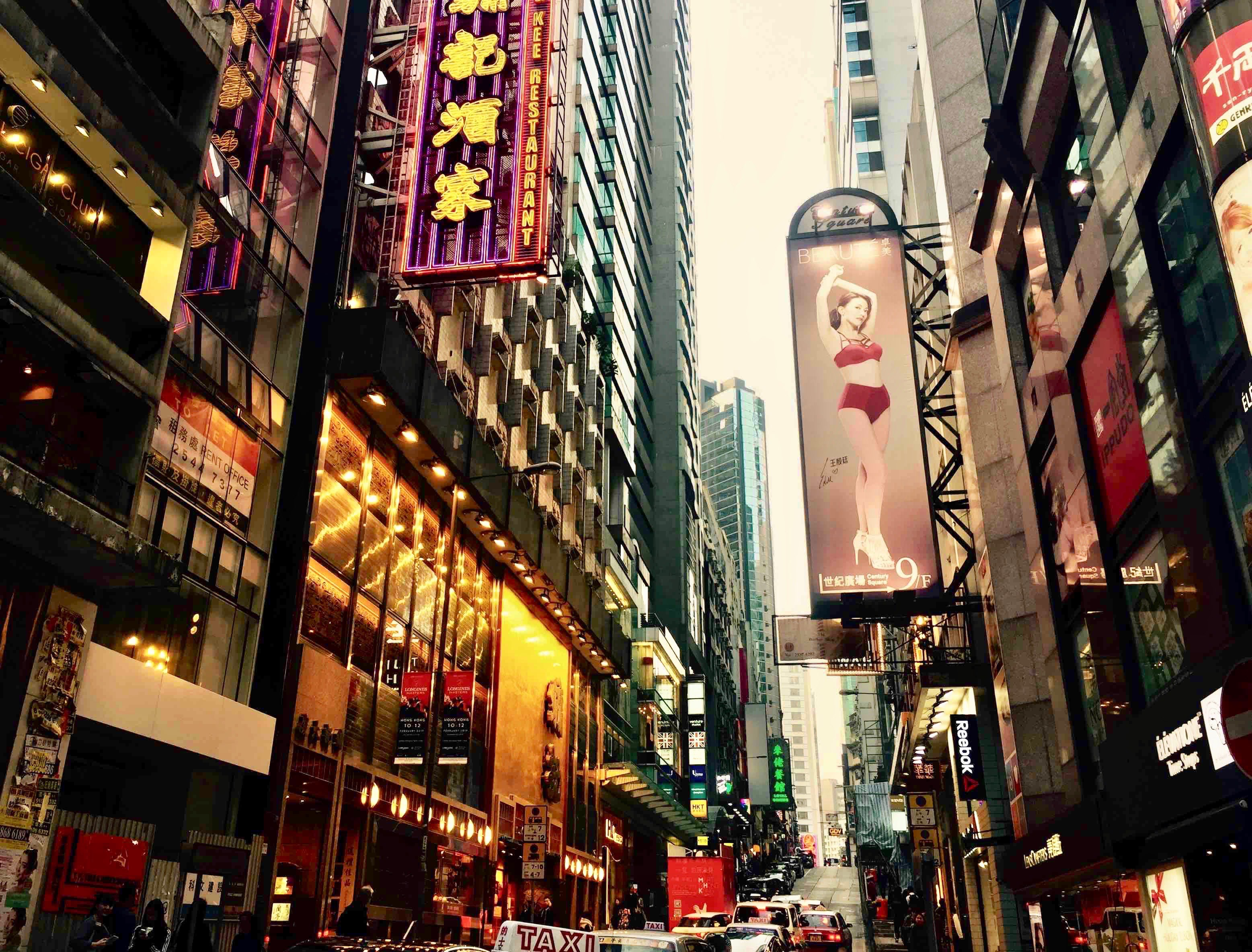 Fitted restaurant for rent on Wellington Street Central Hong Kong