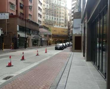 HK Tsim Sha Tsui very high ceiling Ground floor FB shop to let