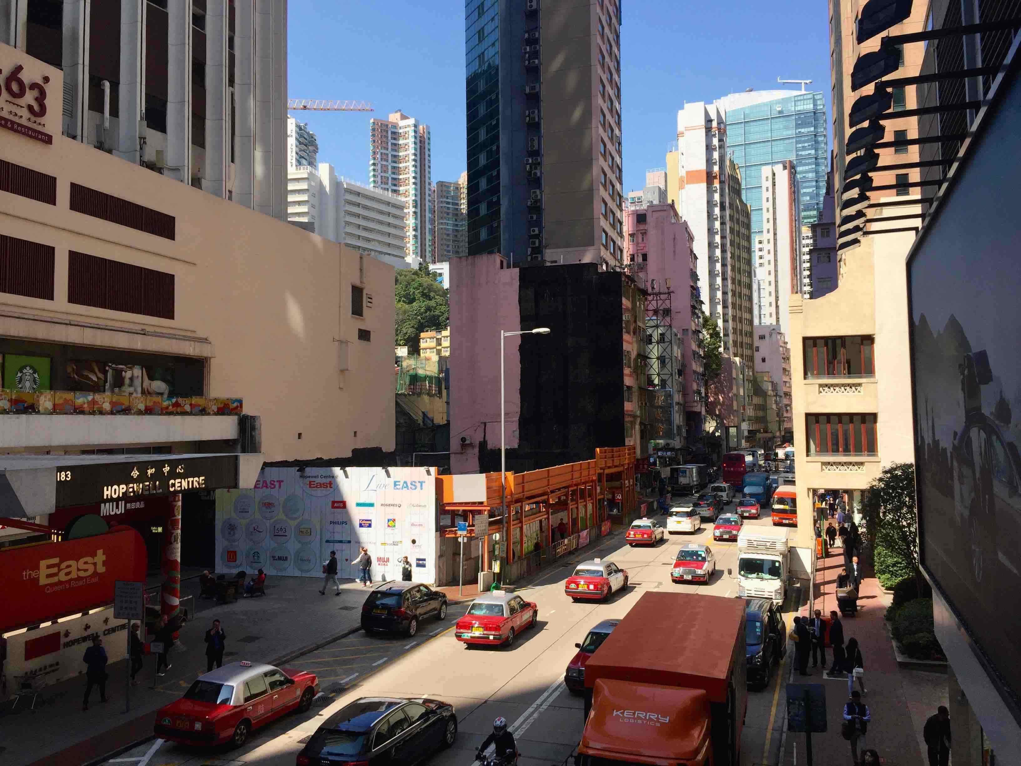 HK Wan Chai Queen's Road East FB Shop for Lease - Office and Residential Catchment