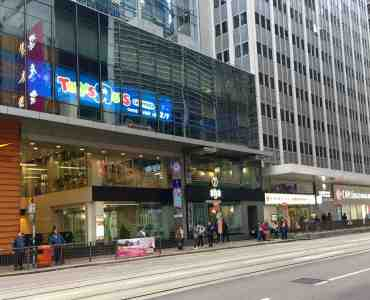 Hong Kong Central High-traffic FnB Shop for Lease surrounded by office crowds