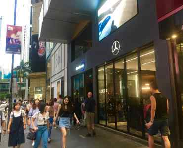 Hong Kong Central Main Street Prime Restaurant Space for Lease Queen's Road Central