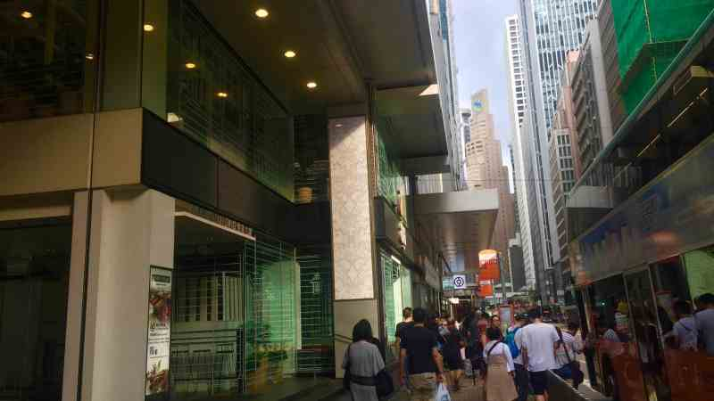Hong Kong Core Central High-traffic Restaurant Cafe Shop to Let