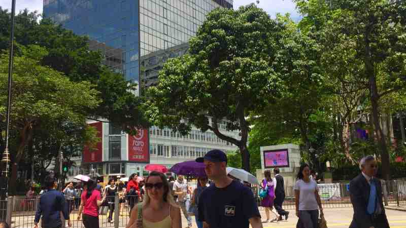 Hong Kong Tsim Sha Tsui F&B Shop for Rent with Office Tourist Crowds