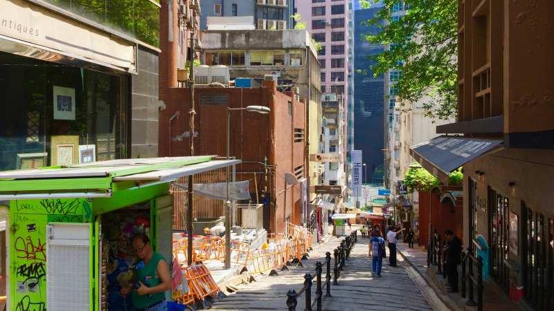 Restaurant space for lease near SoHo escalator in Central, HK
