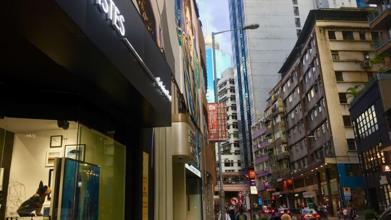 HK Hollywood Road FB shop for lease - best for your unique flagship restaurant
