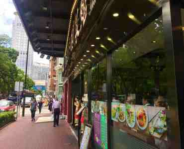 Wide Shopfront FnB Shop for Lease Tsim Sha Tsui Hong Kong