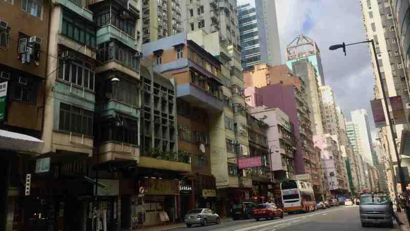 Hong Kong Sai Ying Pun High-ceiling F&B Shop for Rent with Open Yard
