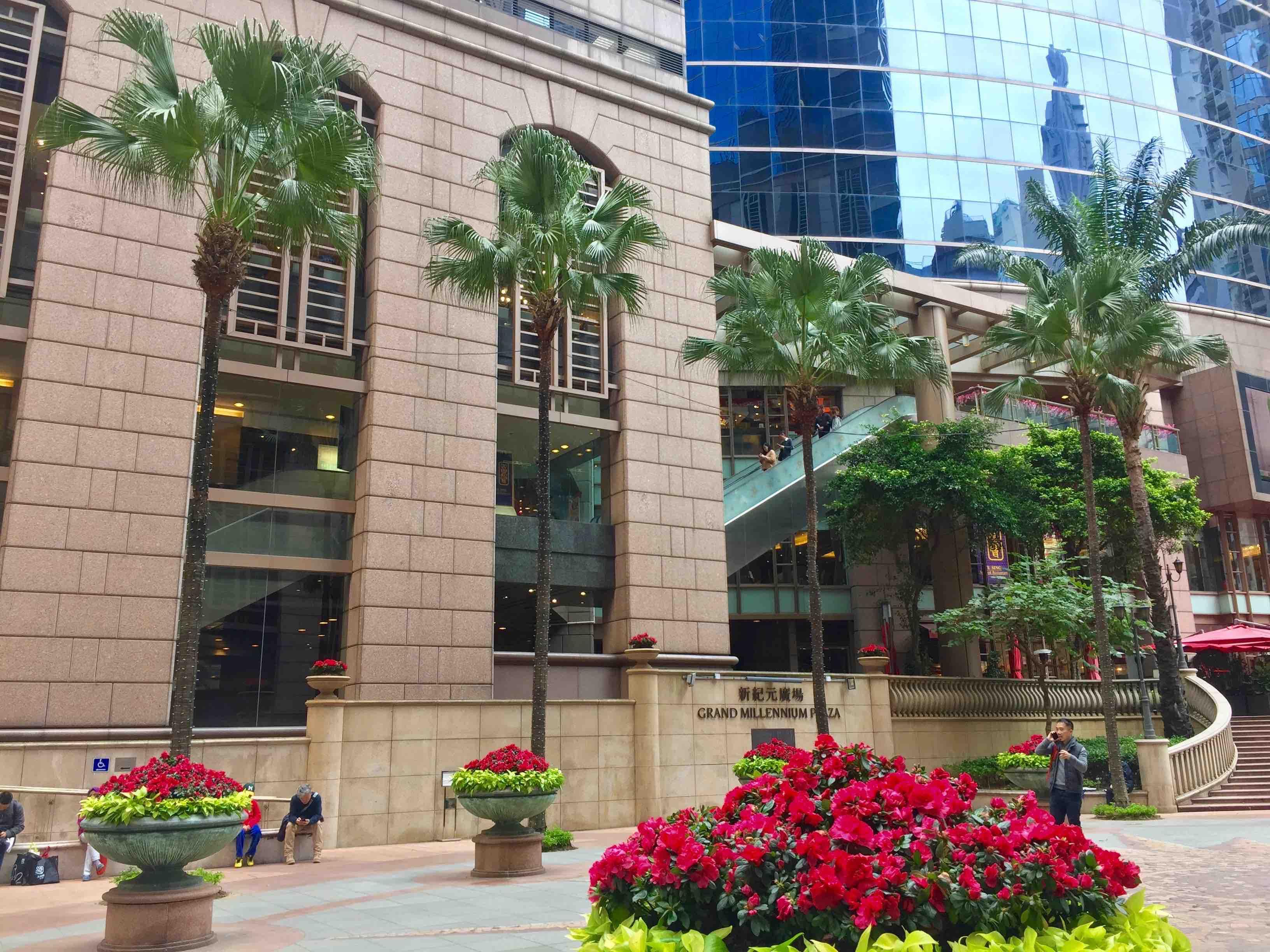 Hong Kong Sheung Wan Office Lobby F&B shop for lease