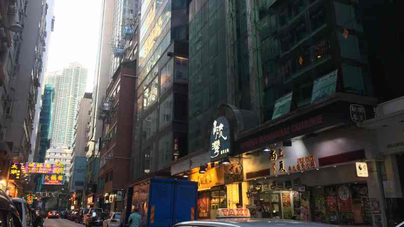 Tsim Sha Tsui Food & Beverage Shop for Lease in HK trendy foodie street