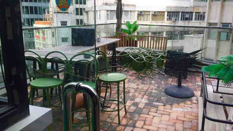 Walk-out Terrace Food & Beverage Shop for Rent in Central Hong Kong