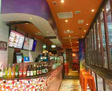 High-traffic Wide-shopfront restaurant space for lease in Causeway Bay HK