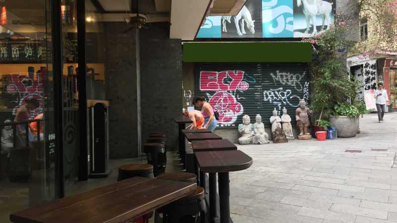 Hong Kong Sheung Wan Cafe Space for Lease