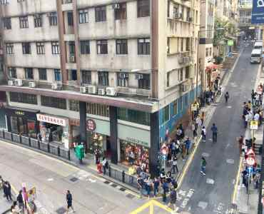 HK Central restaurant space for lease in high traffic touristic spot