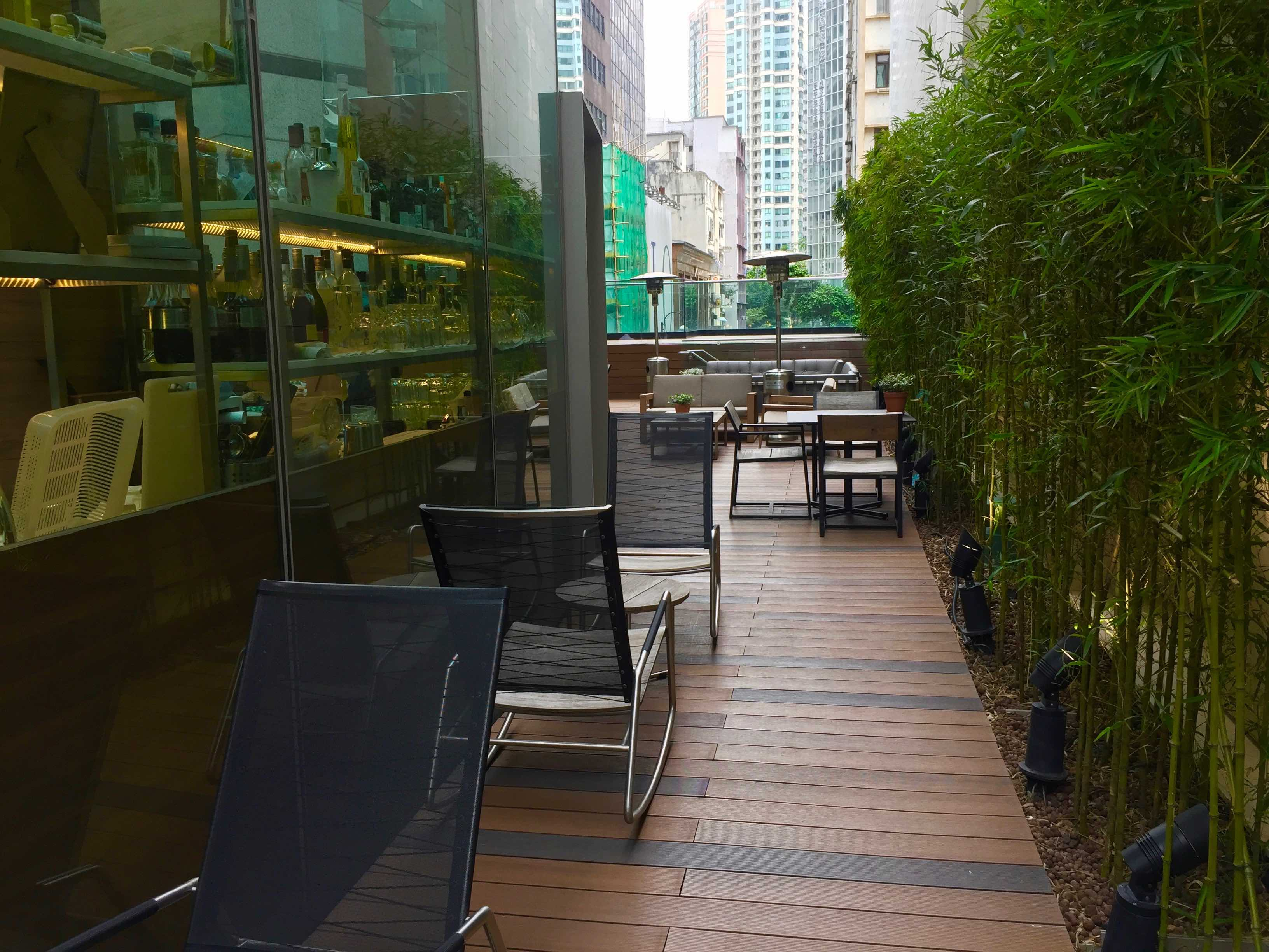 HK Causeway Bay Cafe space for lease with huge outdoor