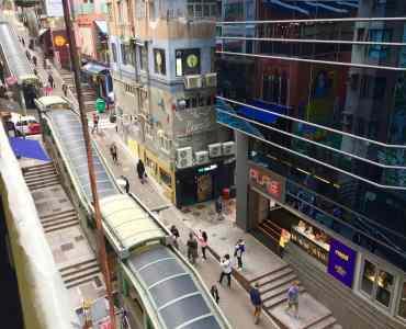 Hong Kong Central Soho Outdoor Restaurant Bar Space for Lease