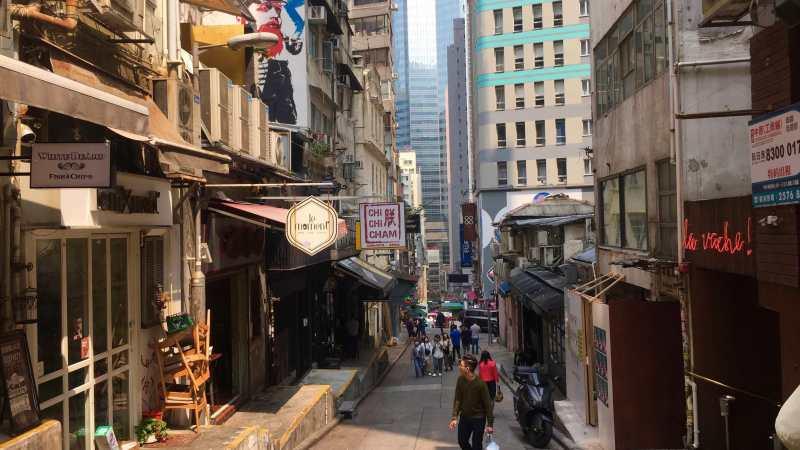 HK Central Soho Peel Street F&B Shop for Rent