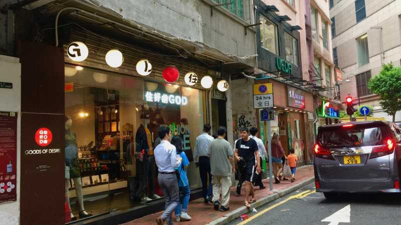 Causeway Bay Noodle shop for rent behind Times Square HK
