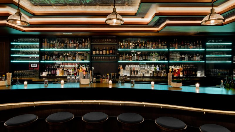HK Lan Kwai Fong fitted bar restaurant for Sale