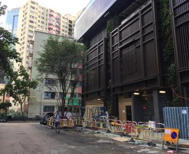 Corner cafe space for Lease in Quarry Bay HK