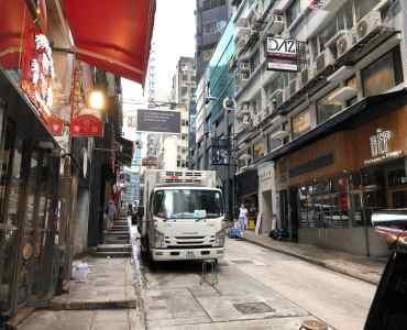 Wellington Street Restaurant Space for Lease [Central - HK]