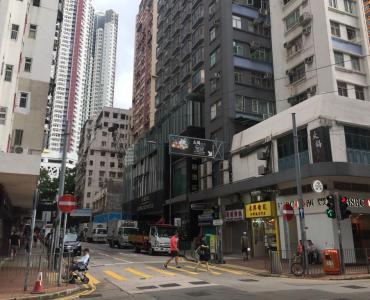 FB Shop connected with street level space for Rent HK