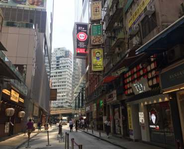 High-ceiling fitted restaurant for Rent in HK Causeway Bay