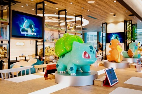 Pokemon Cafe first in Japan then to other Asian countries