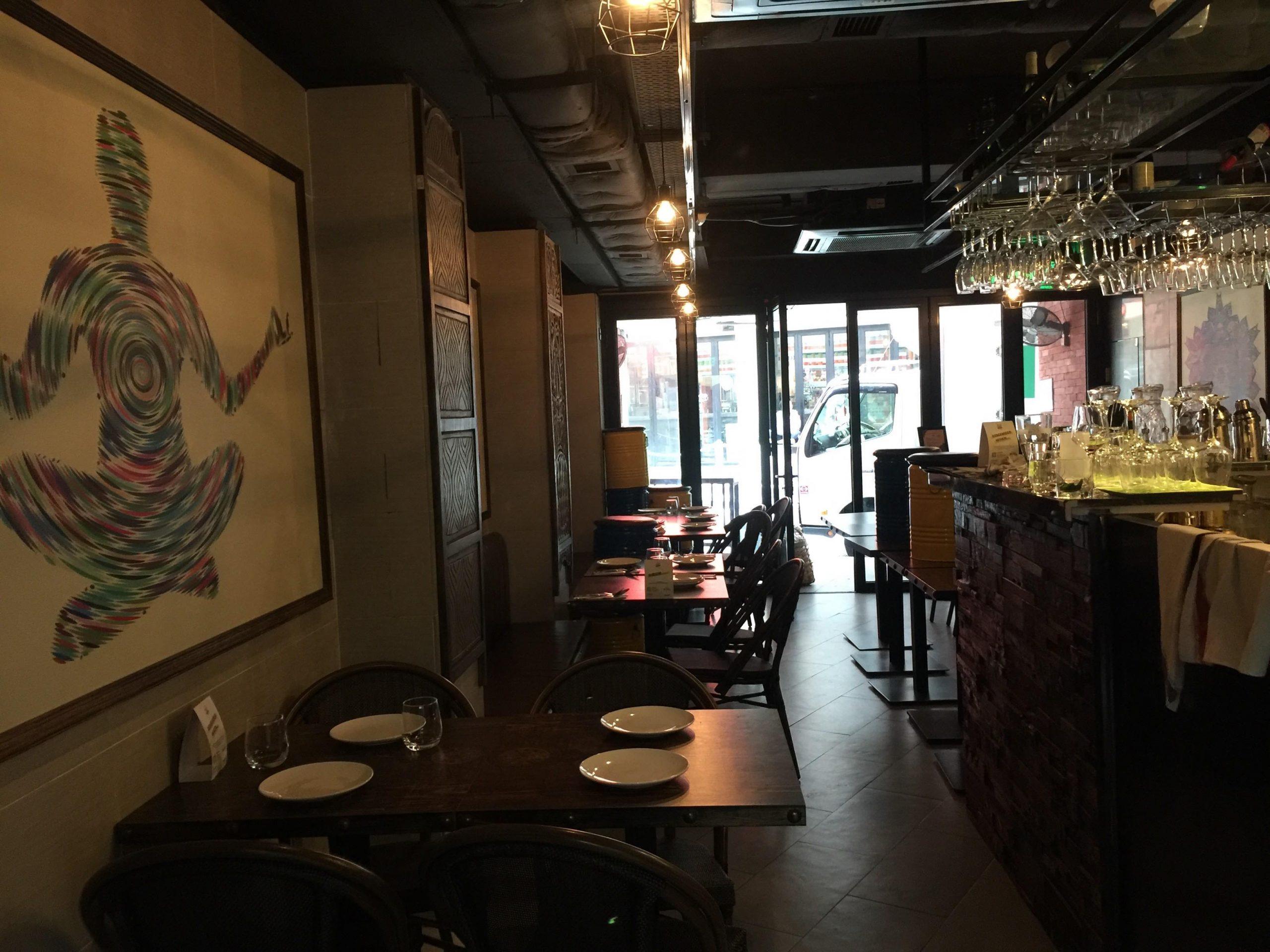HK Central Soho Fitted Restaurant Bar for Lease