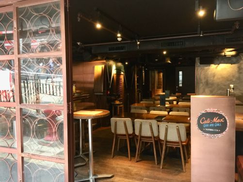 Cali-Mex in Lan Kwai Fong serves food delivery instead of dine-in customers