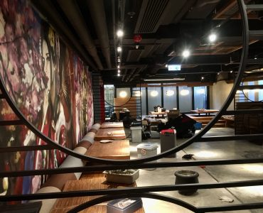 Fitted Leasing Restaurant with full kitchen and bar in Central HK
