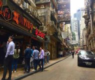 HK Central Foodie Street Shop for Lease