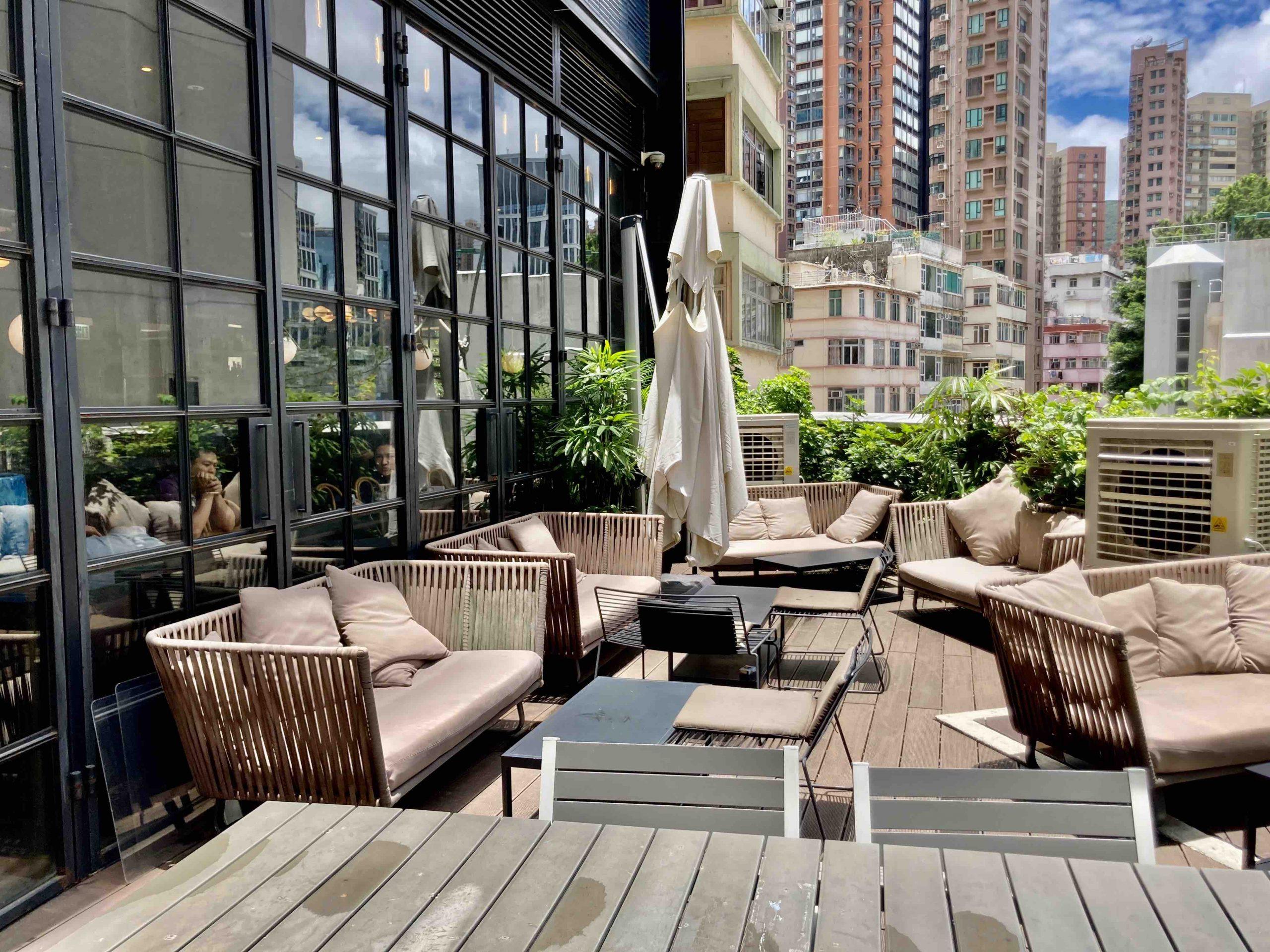 Exceptional Garden Restaurant for Rent in HK