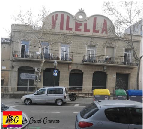 fachada casa Vilella barcelona