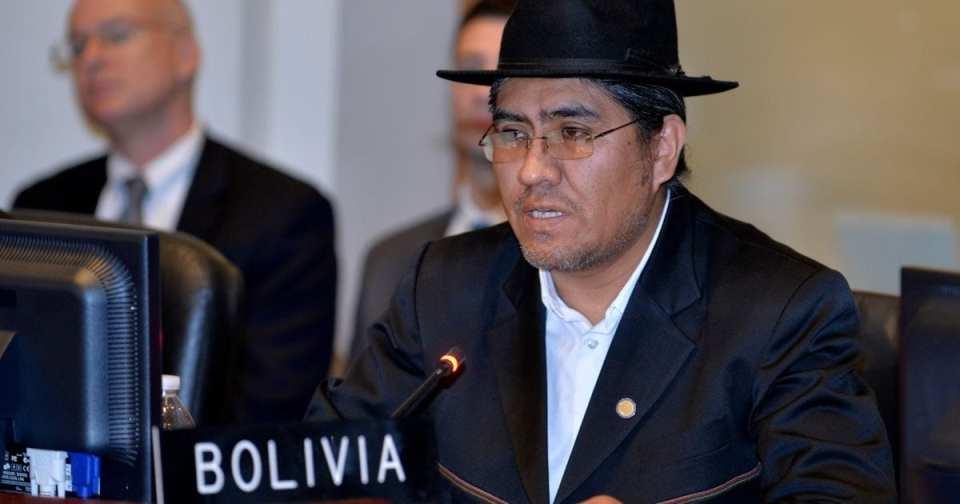 Diego Pary es el nuevo canciller de Bolivia