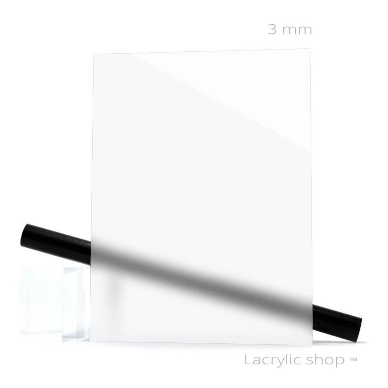 plexiglass sur mesure blanc opal clair ep 3 mm