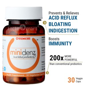 minidenz prevent and relieves acid reflux, bloating, indigestion. Boost immunity
