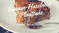 Banaan-Hazelnoot-Plaatcake