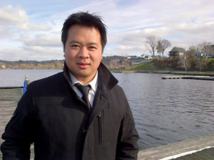 Pascal Robidas, reporter à Radio-Canada.