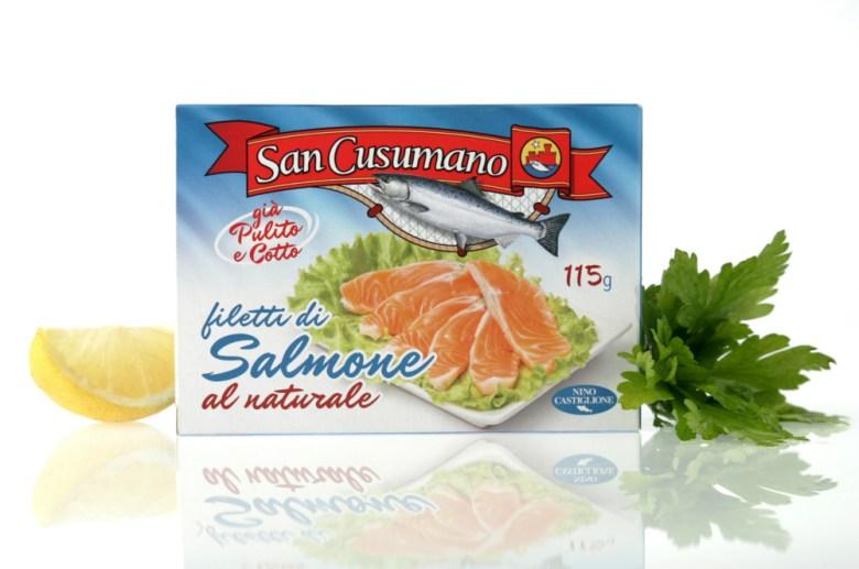salmone naturale