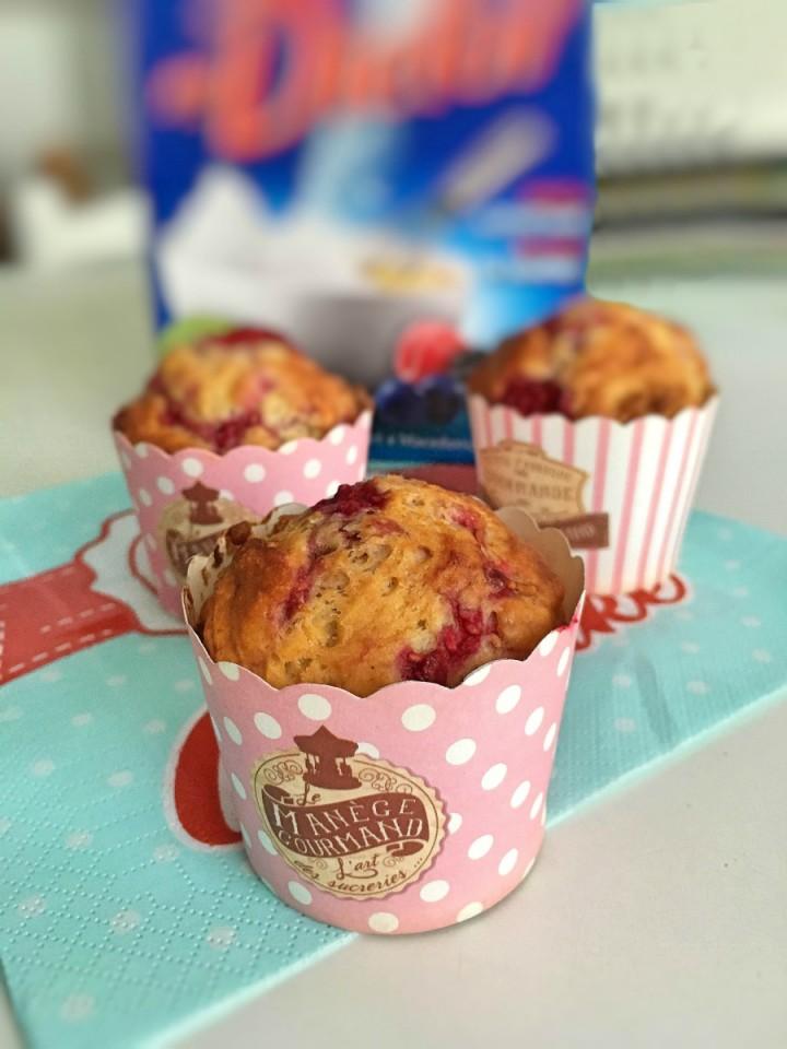 ricetta dei muffin con dietor blu