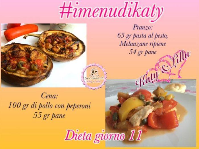dieta facile diario giorno 11