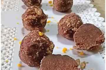 Tartufi di pandoro al cioccolato e arancia - la cucina pugliese