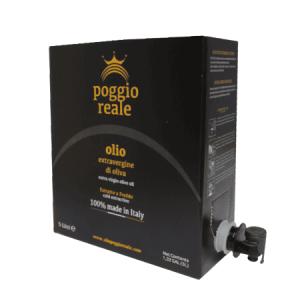 Olio extravergine d'oliva Pugliese - Bag in box 5 lt