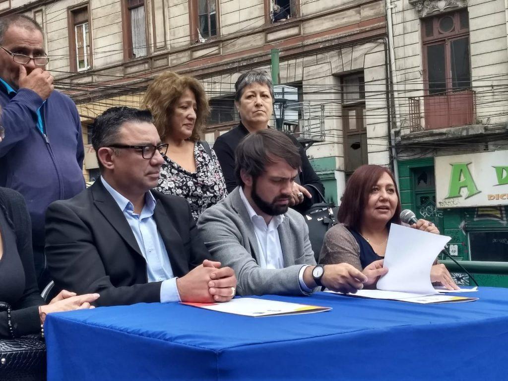 Vecinos y locatarios firman acuerdo para cambiar la imagen de Subida Ecuador
