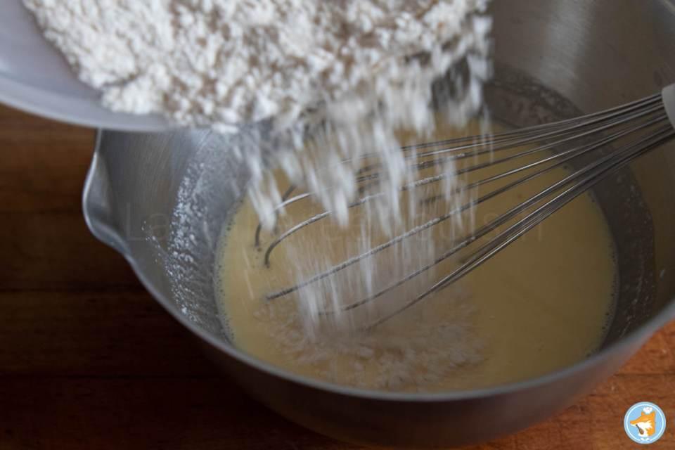 Recette pas-à-pas de pancakes délicieux, moelleux  et rapide à faire.