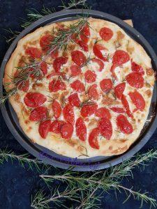 Tarte tomates gorgonzola