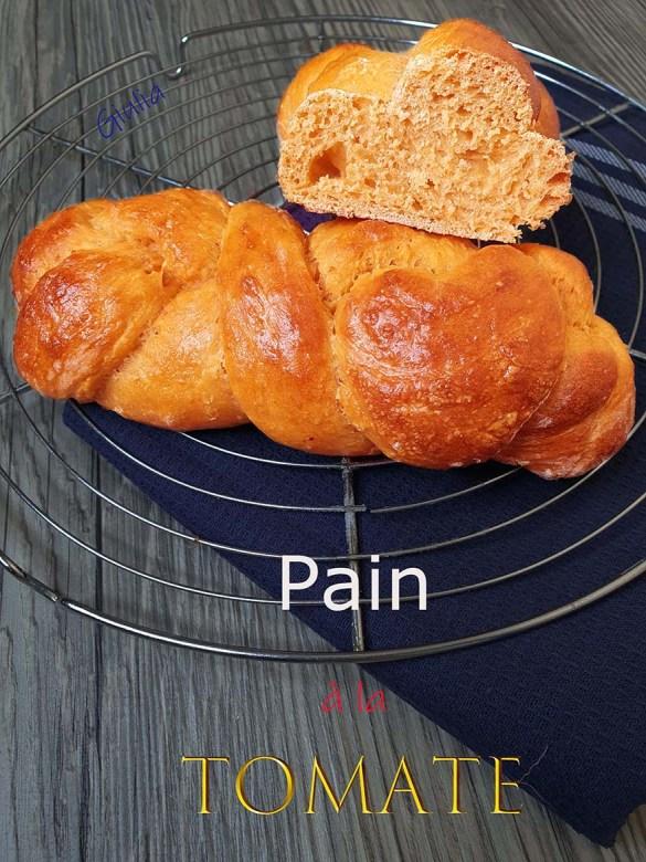 Pain à la tomate