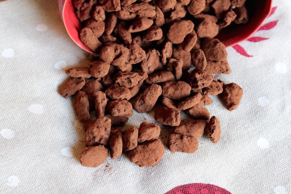 23 décembre : des amandes en chocolat