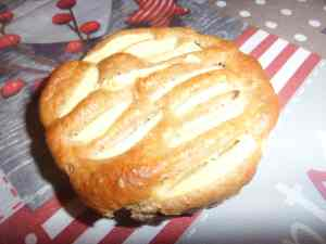 mini tarte aux pommes
